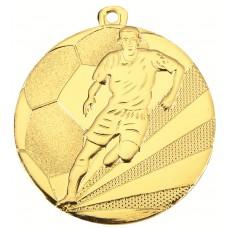 Medaille ijzer voetbal 50 mm