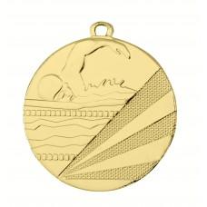 Medaille ijzer zwemmen 50 mm
