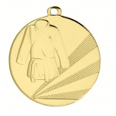 Medaille ijzer judo 50 mm
