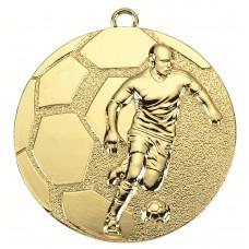 Medaille zamac voetbal 50 mm