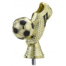 Figuur voetbalschoen goud 103 mm