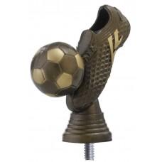 Figuur voetbalschoen brons 103 mm