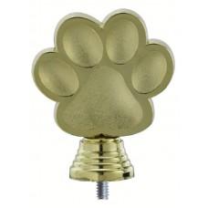 Figuur hondenpoot 105 mm goud