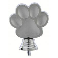 Figuur hondenpoot 105 mm zilver