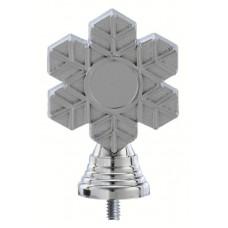 Figuur neutraal 105 mm zilver